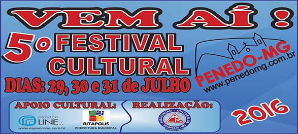 5� FESTIVAL CULTURAL DO PENEDO