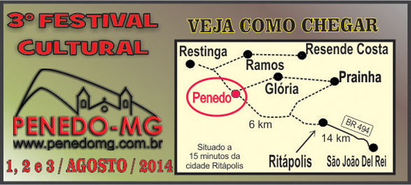 MAPA DO PENEDO-MG