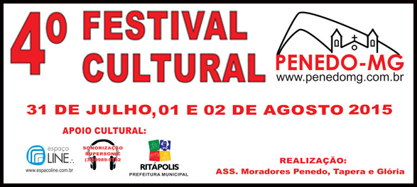 4� FESTIVAL CULTURAL DE PENEDO-MG